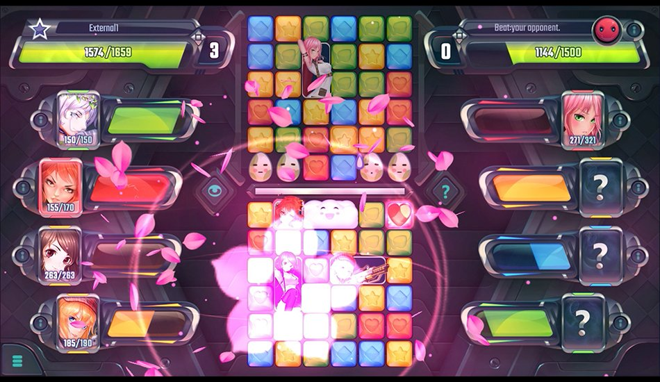 cosmic shock league bejeweled porn game