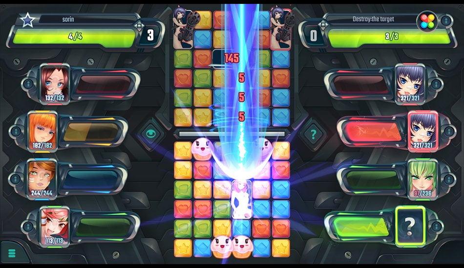 gameplay screenshots cosmic shock league
