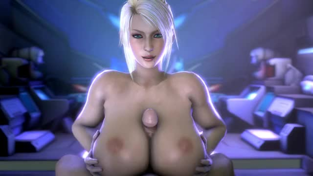 titty fuck in 3d cartoon porn game