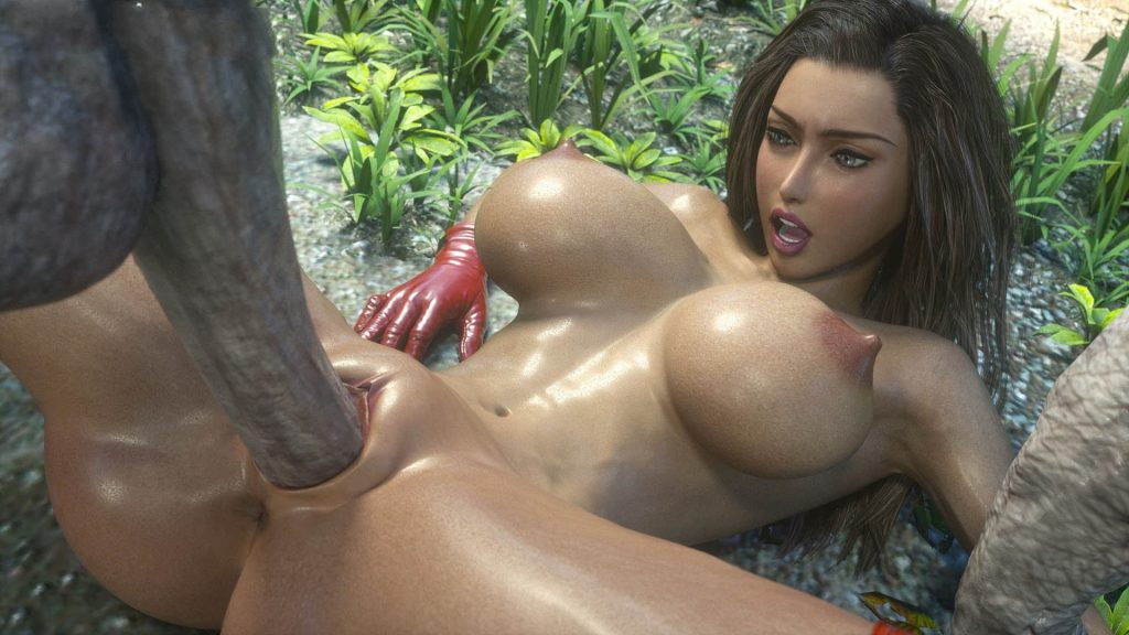 big tit slut fucked in android porn game