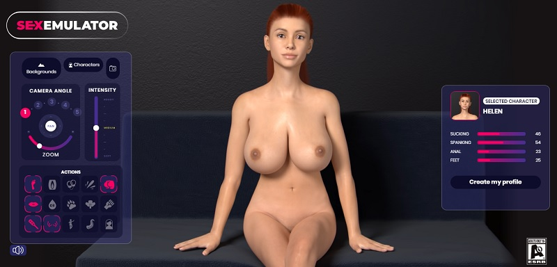 customize your sex emulator girl