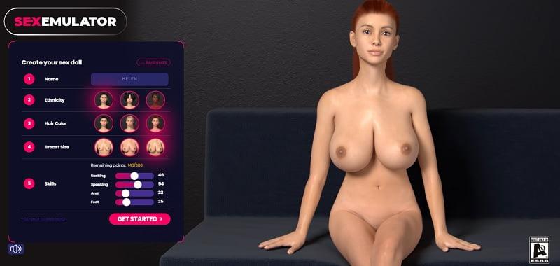sex emulator game remote controls